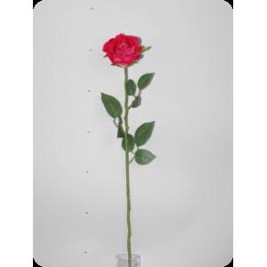 Роза бархатная, красная, 70см