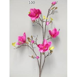 Аренда  искусственных растений Магнолия Scent, фуксия, 110 см