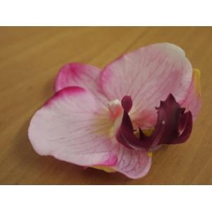 Головка фаленопсиса/орхидеи, розовая, маленькая