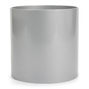 NIEUWKOOP Дизайнерское кашпо Parel structuur, круглое, 43x39 cm R2004 оранжевое