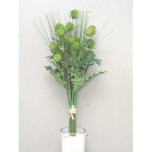 Букет декоративных трав, зеленый