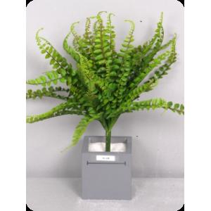 Аренда  искусственных растений Папоротник, куст, зеленый, 42 см