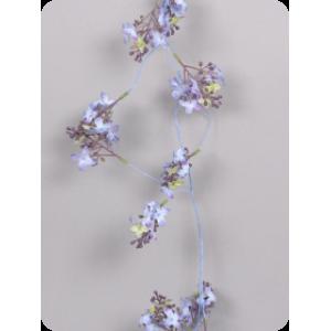 Гирлянда лиловых цветов 170 см