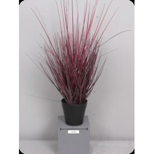 Аренда  искусственных растений Трава, малая, коричневая, в горшке, 48см