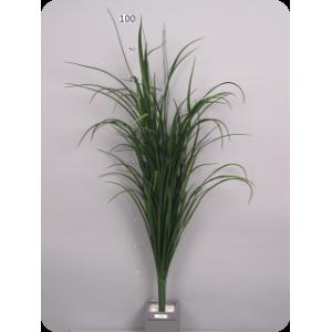 """Аренда  искусственных растений Трава """"Речная"""", куст, зеленый, 106см"""