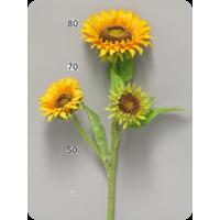 Подсолнечник Tuscany, желтый, 3 цветка, 85 см