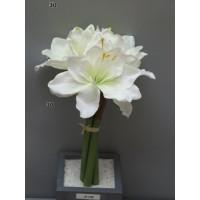 Амариллис Marit, букет из 3-х цветков, 30 см