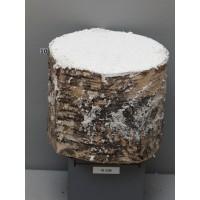 Брус дерева со снегом, высота 15 см, Ø18cm