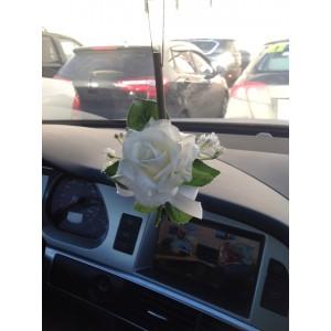 Ароматизированная палочка для авто в цветочной миникомпозиции. Натуральный запах роз сохраняется до 60 дней.