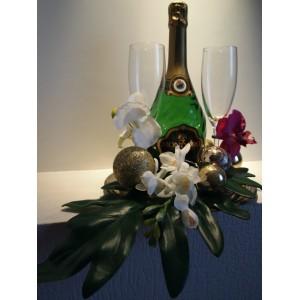 Новогоднее шампанское № 2 для молодоженов