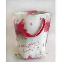 Дизайнерская упаковка Borsa TWIN STELLA DI NATALE