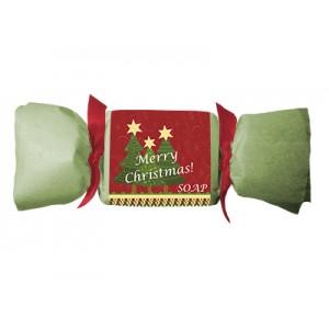 Мыло с маслами арганы, миндаля, какао и дерева ши, подарок на Рождество