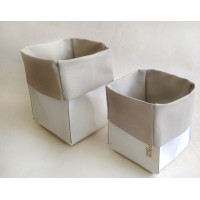 Дизайнерская упаковка CUBO MELODY fibra Plus cuoio