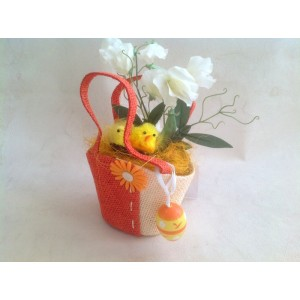 Пасхальный подарок в оранжевой сумочке №2
