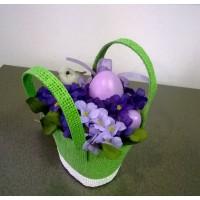 Пасхальный подарок в зеленой сумочке