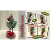 Основа для подарка Рождественская елочка