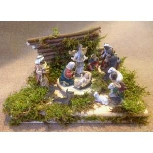 Рождественский вертеп (11 фигур) №2