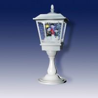 Декоративный рождественский настольный фонарик