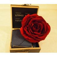 Стильное дополнение к подарку - Роза Бэлла Донна
