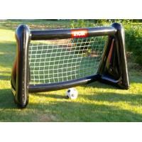 Ворота футбольные с мячом надувные