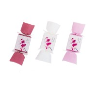 Шипучка для ванны, мини, Розовая орхидея, 30 г