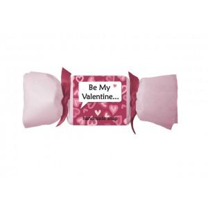 Мыло с маслами арганы, миндаля, какао и дерева ши, на День Валентина