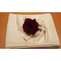 Комплект Скатерть, 6 салфеток Бархатная роза Белла Донна