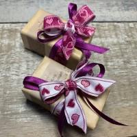 """Мыло из масла какао 100 г с декором """"День Св. Валентина"""""""