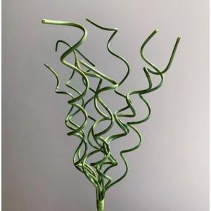 Вьющиеся декоративные ветки, зеленые, 40 см