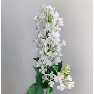 Сирень Канны ветка белая , 83 см