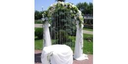 Прокат свадебного декора из искусственных растений и цветов